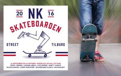 Stadscamping geopend tijdens NK Skateboarden