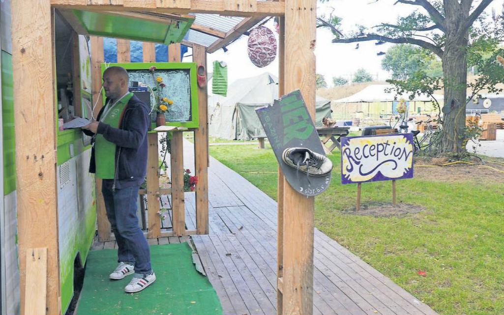 'Stadscamping is ook informele sociale werkplaats'