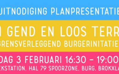 Planpresentatie VGL terrein op vrijdag 3 februari