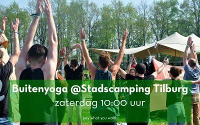 Amika Yoga bij Stadscamping Tilburg
