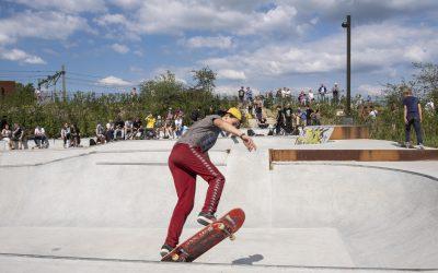 Stadscamping opent poorten voor bezoekers NK Skateboarden