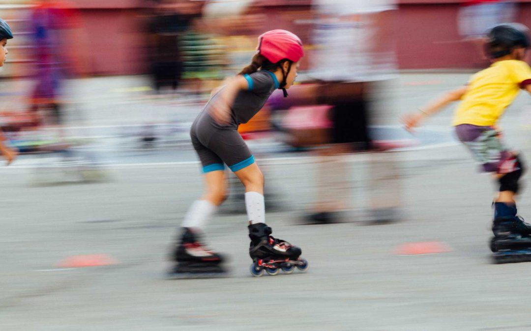 Skatekamp in afsluitend weekend schoolvakantie